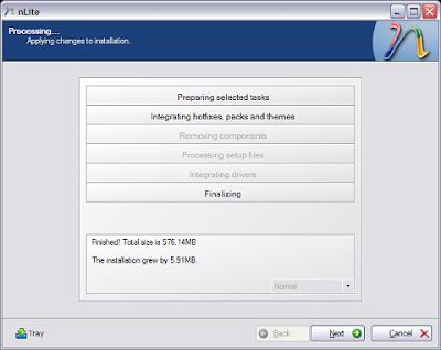 Nlite : Customise your Windows XP - Part 2 7