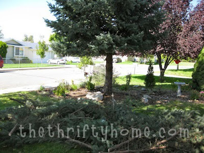The Thrifty Home How To Make Your Yard Look And Feel Bigger