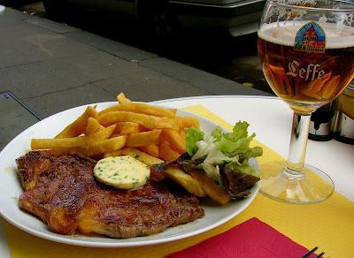 Steak-Frites - Photo my Mardi Michels
