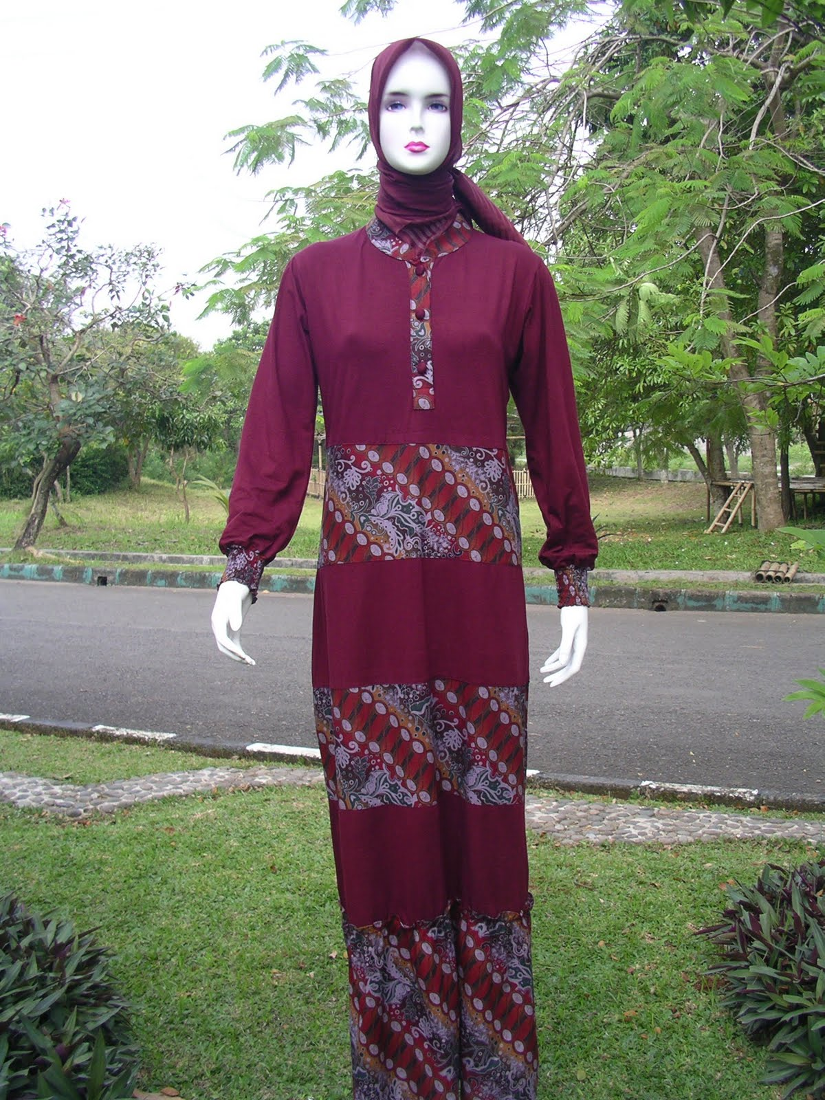 Desain Pakaian Gamis Rompi Membangun Paradigma Baru Untuk