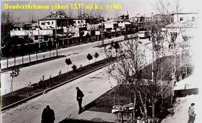 Bendertürkmen şäheri 1337-nji h.ş. ỳylda