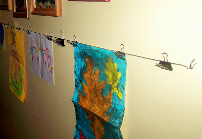 Bundles of Blossoms Blog- An Entrepreneur's Daily Dose of Reality: How to make a kids artwork line-so easy
