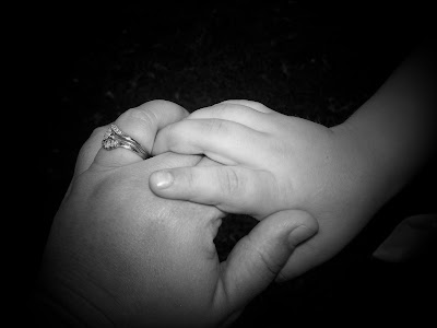 Bundles of Blossoms Blog- An Entrepreneur's Daily Dose of Reality: The hands of time- from a mom and her baby boy