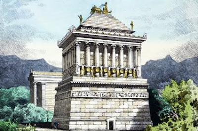 .: Mausoleum of Halicarnassus