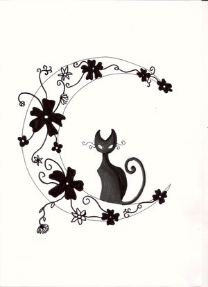Moon tattoo designs There are many designs to be selected in the internet
