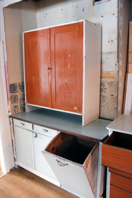 Vintage house: köksrenovering del 2 : gammal köksinredning
