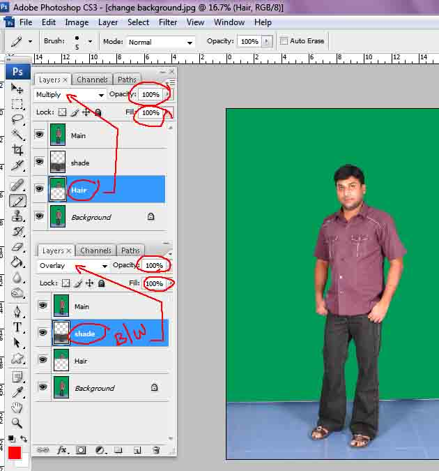 Photoshop Cs3 Tutorial The Erase Background Tool Removing | Party ...