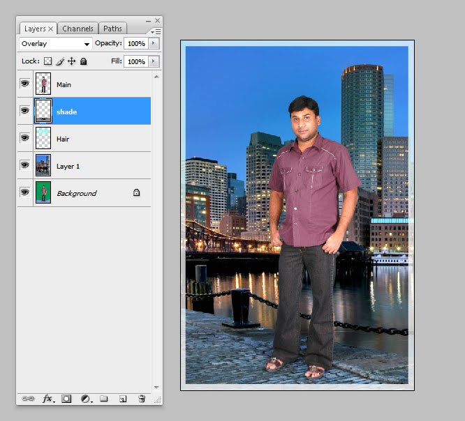 how to send background layer to back of layer