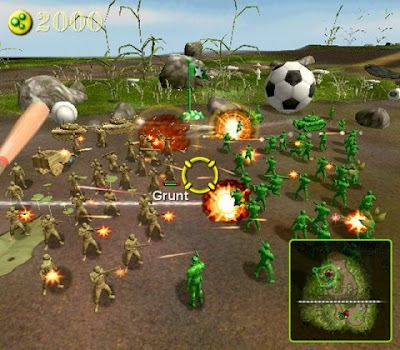 Army Men RTS Screen