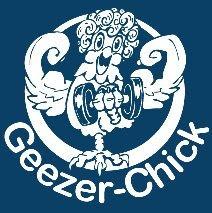 Geezer-Chick logo by Ty Meier