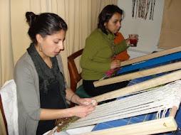 alumnas telar decorativo