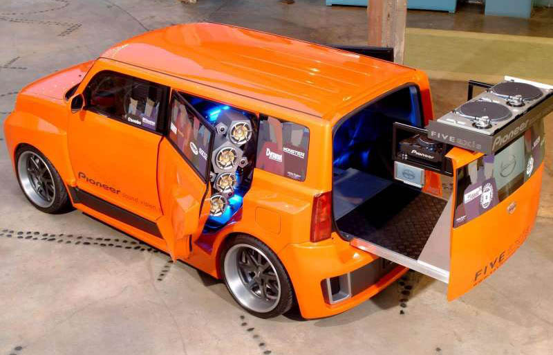 2005 Scion 5 Axis Widebody Dj Xb. Scion 5 Axis Widebody DJ xB,
