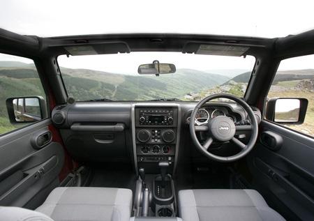 Jeep Wrangler Unlimited UK Version, 2008