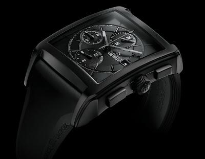 Montre Maurice Lacroix Pontos Chronographe Rectangulaire Full Black