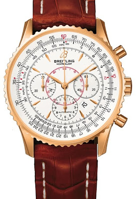 Montre Breitling Montbrillant Or Rose