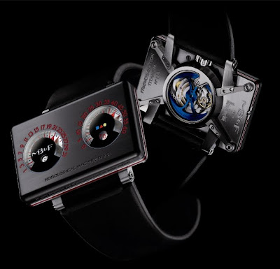 Montre MB&F Horological Machine N°2 avec Alain Silberstein