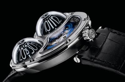 Montre MB&F Horological Machine No3 Frog - HM3 Profil