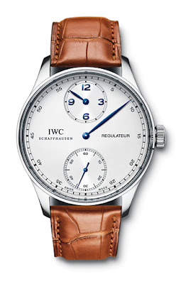 Montre IWC Portugaise rgulateur acier
