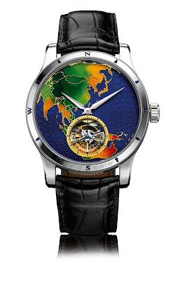 Montre Jaeger Lecoultre Master Grand Tourbillon Continents Asia