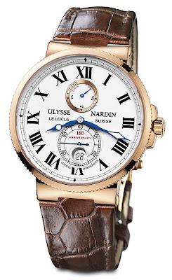 Montre Ulysse Nardin Chronomètre de Marine 160ème anniversaire