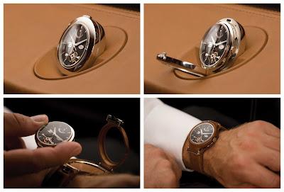 Montre Parmigiani Bugatti Tourbillon Concept