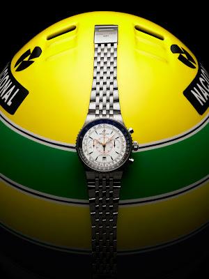 Casque Ayrton Senna Montre Breitling Montbrillant