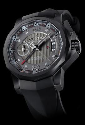 Montre Corum Admiral's Cup Chronographe 44 Centro Mono-poussoir référence 960.101.94/F371 AN12