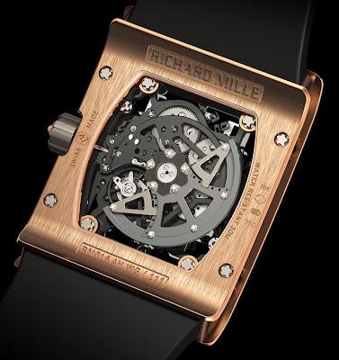 Calibre RM 005-S Montre Richard Mille RM 016
