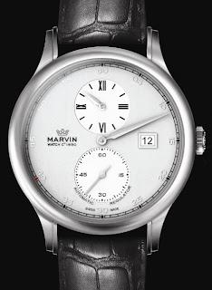 Montre Marvin Malton 160 Round Régulateur