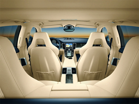 Porsche Panamera Turbo Interior. Porsche also now offers the
