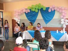 Foto festa das crianças e professores