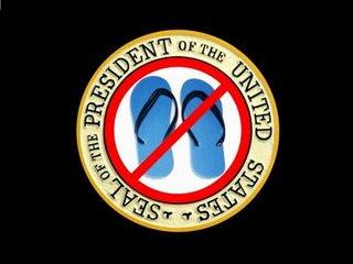 Obama flip flop man