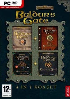 Baldur's Gate 4-in-1 boxset