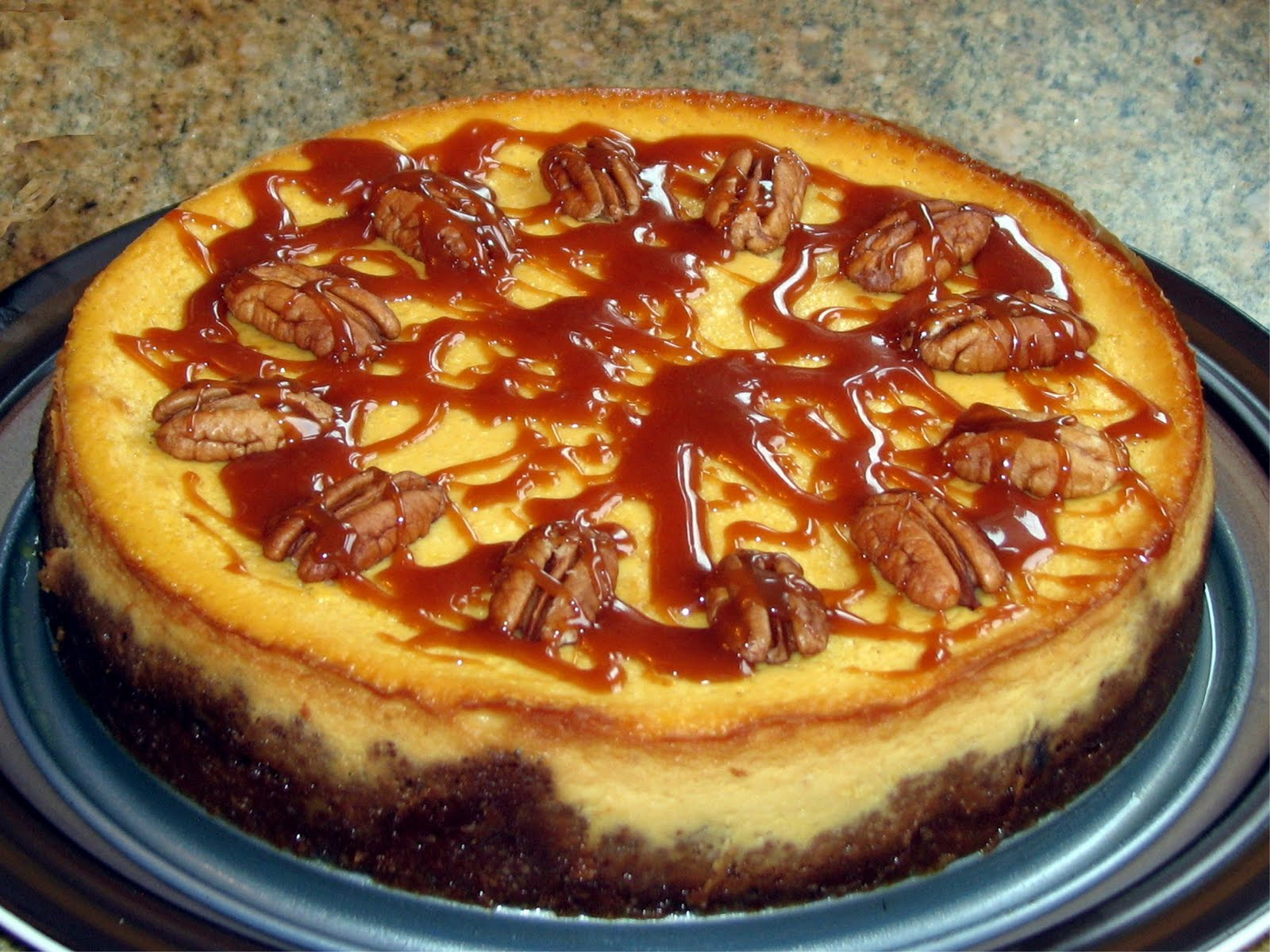 Pure Pumpkin Cheesecake