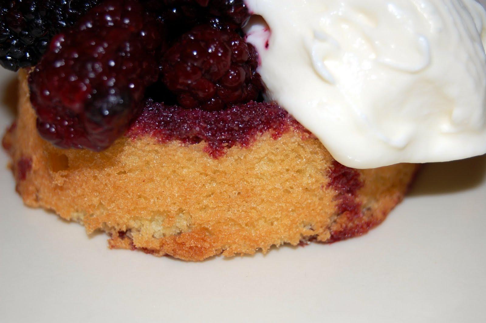 Marionberry Shortcakes