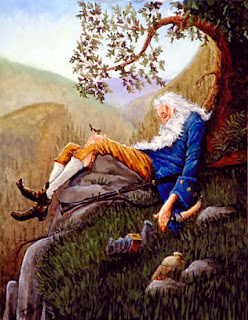 Literary analysis of rip van winkle by washington irving