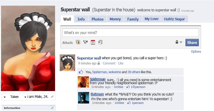 wall superstar