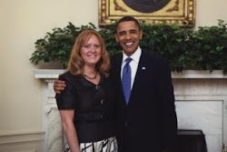 Ms. DuBois & President Obama
