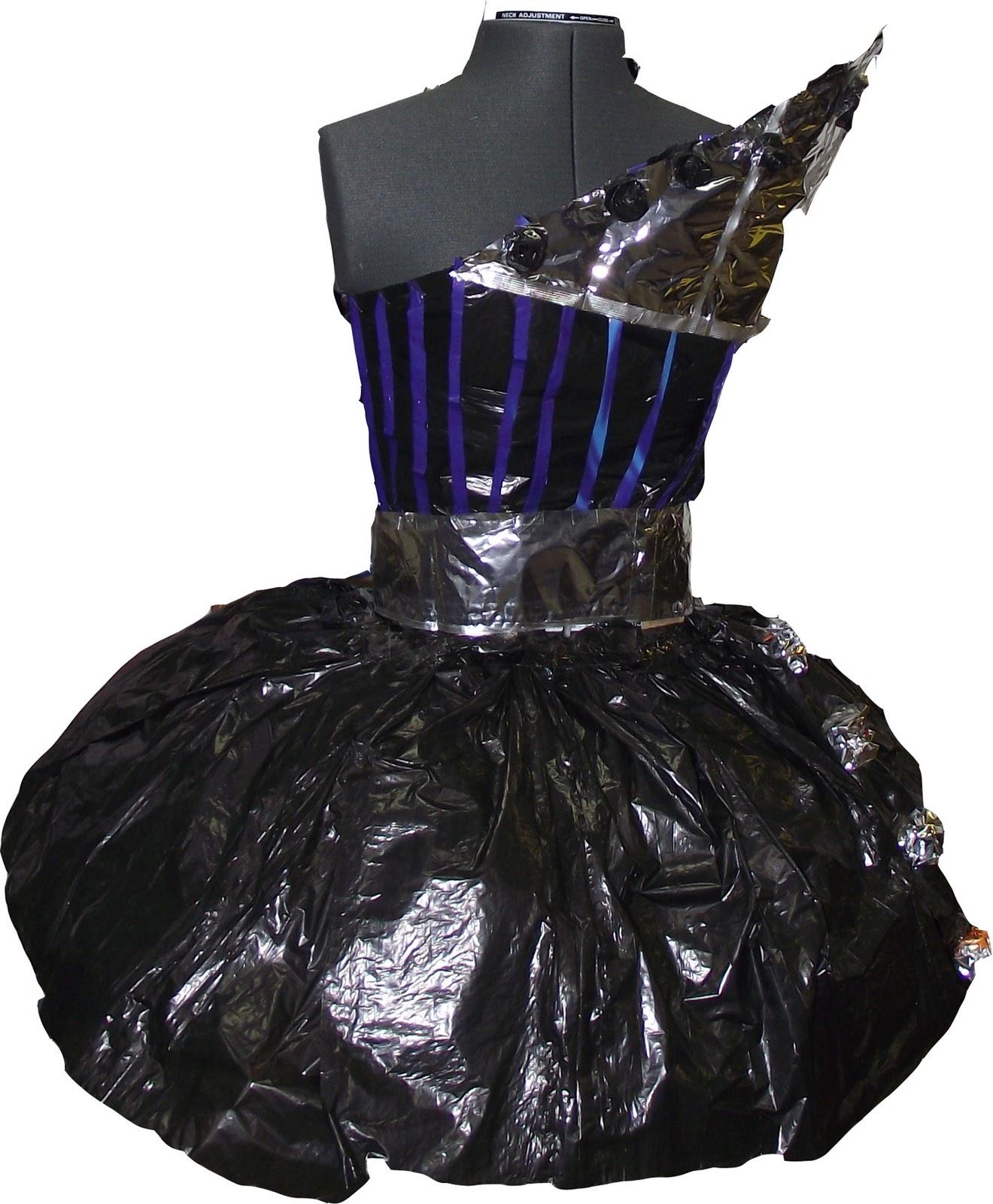 Fine Art Portfolio Recycled Dress