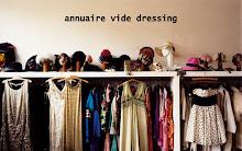 Annuaire vide dressing