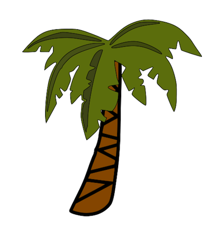 Palm Tree Clip Art. Palm Tree