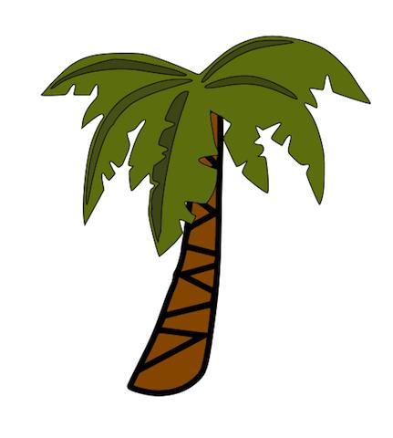 Palm Tree Clip Art. Palm Tree