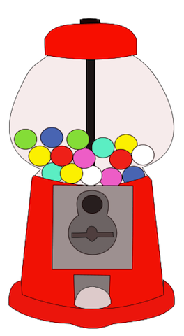 gumball machine svg
