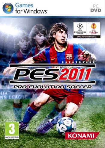حصريا Pro Evolution Soccer 2011 Full ISO