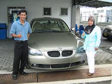 Leader MyJ TRG Bersama Kereta Idaman BMW525i