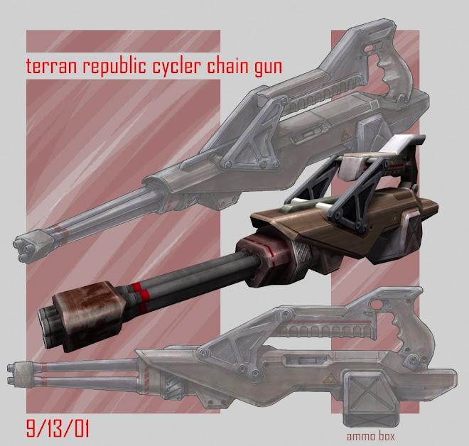 Terran Chain gun