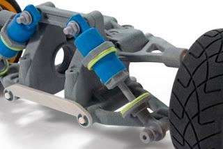 piezas creadas con impresora 3D