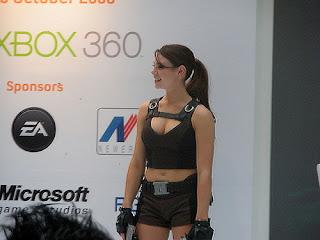 Alison Carrol - nice Tomb Raider
