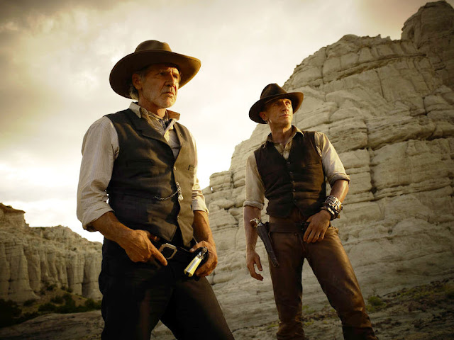 Harrison Ford y Daniel Craig en Cowboys and Aliens - estreno julio 2011