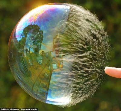 super slow motion picture bubble 3